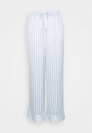 HANNA OVERSIZED TROUSERS - Pyjama bottoms - light blue