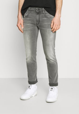ANBASS BIO - Slim fit jeans - medium grey