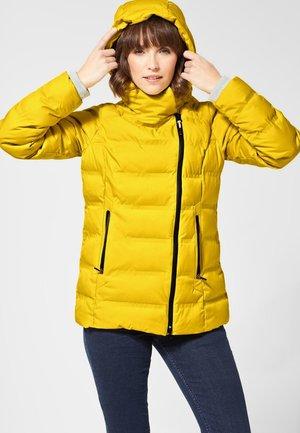 MIT STEPPUNGEN - Winter jacket - yellow