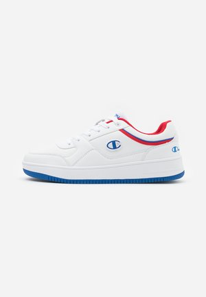 LOW CUT SHOE REBOUND - Basketbalschoenen - white/royal blue/red