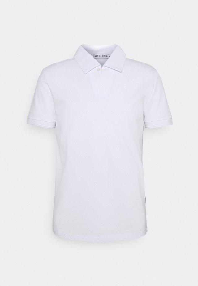 ADERICO - Poloshirt - pure white