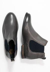 Apple of Eden - MANON - Kotníková obuv - dark grey - 3