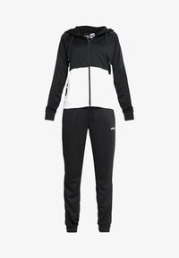 adidas Performance - LIN HOOD SET - Zip-up hoodie - black/white - 6