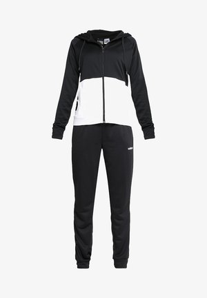 LIN HOOD SET - Zip-up hoodie - black/white