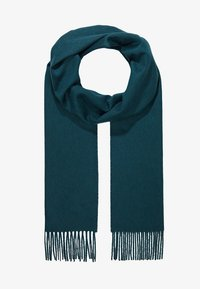 Johnstons of Elgin - 100% Cashmere Scarf UNISEX - Sjaal - hunter green - 2