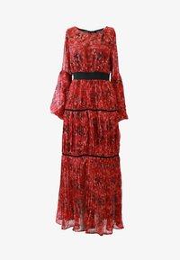faina - Maxi dress - roter blumen print - 4