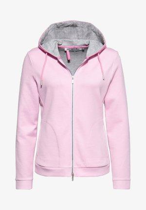 Zip-up sweatshirt - rosa