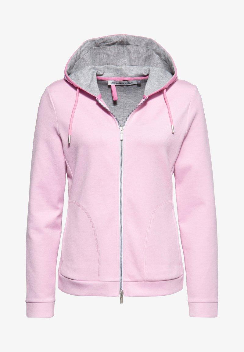 Amor, Trust & Truth - Zip-up sweatshirt - rosa
