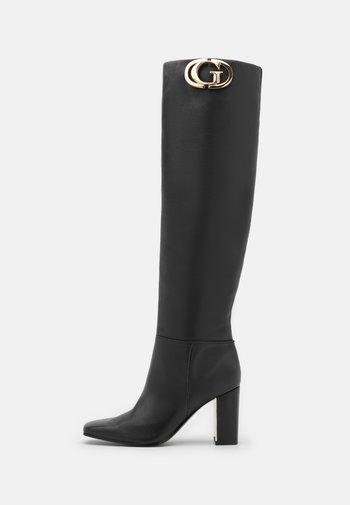 ELANDRE - Høye støvler - black