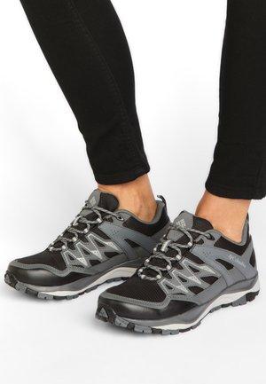 WAYFINDER OUTDRY - Hiking shoes - black, steam