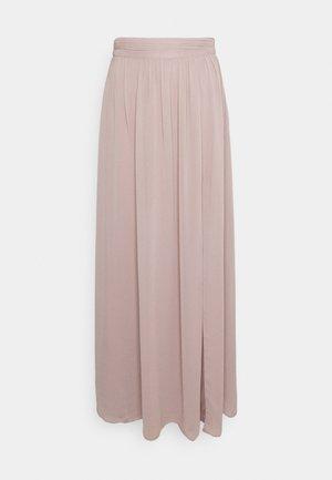 MY WAY RUCHED SKIRT - Maxi skirt - nougat