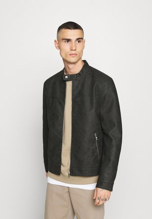 ONSJASPER - Faux leather jacket - phantom