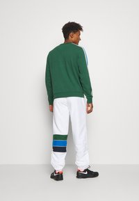 Lacoste Sport - XH2448 - Pantalon de survêtement - white/navy blue/utramarine/green - 2
