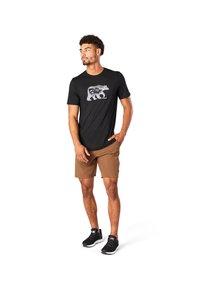 Smartwool - T-shirt print - black - 0