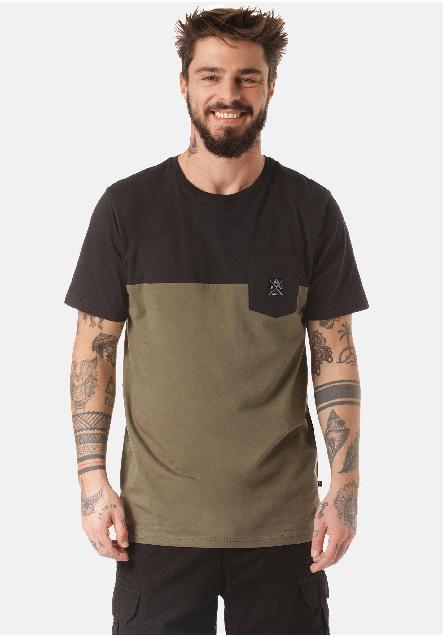 Herren MOUNTAIN T-SHIRT MUKONO - T-Shirt print
