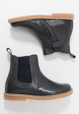 CHELYS BROGUE NARROW FIT - Classic ankle boots - dark blue
