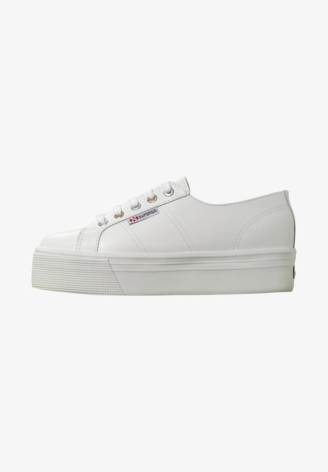 Trainers - white-multi metal eyelets