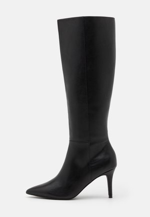 SELF LOVE UNDER KNEE BOOT - Støvler - black