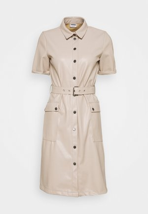 NMDUST DRESS - Skjortekjole - taupe gray