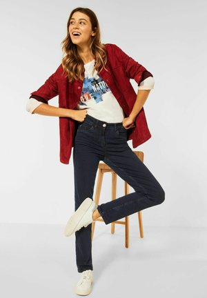 CASUAL FIT - Straight leg jeans - blau