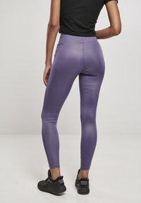 Urban Classics - Leggings - Trousers - darkduskviolet - 2