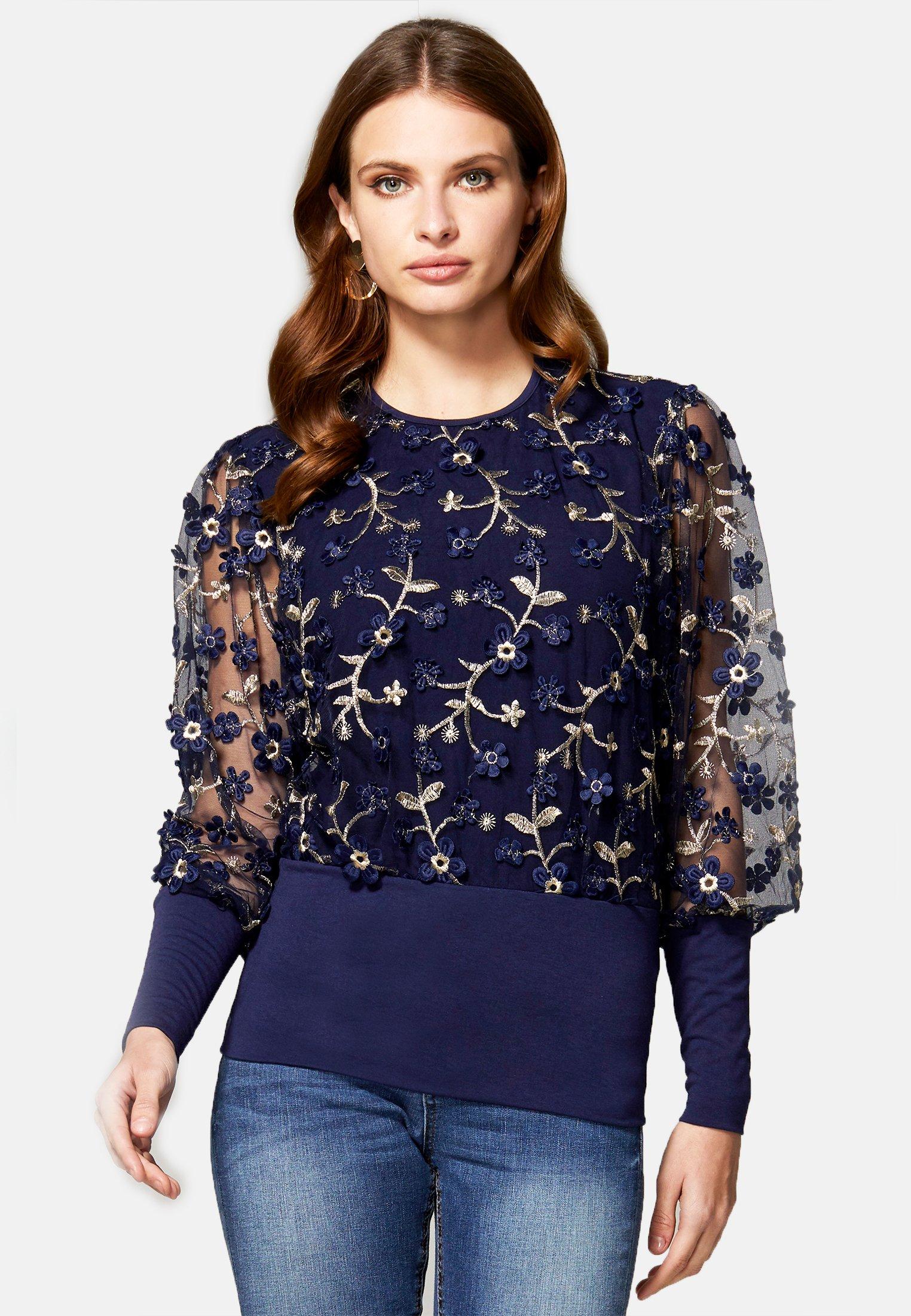 HotSquash Blouse - navy - Tops & T-shirts Femme TLg29