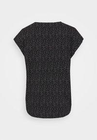 TOM TAILOR DENIM - PRINTED SPORTY BLOUSE - Blouse - black/white - 1