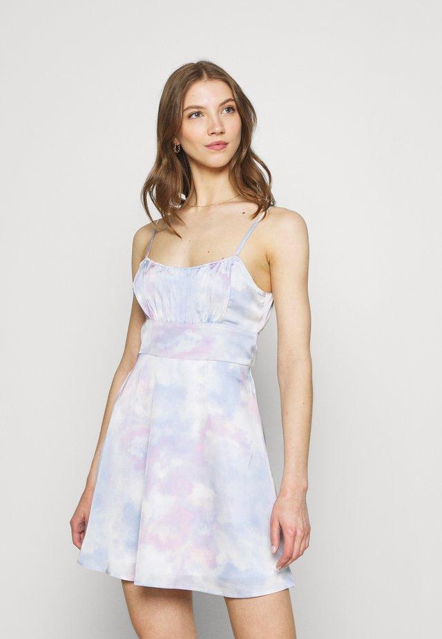 SUMMER SHORT DRESS - Sukienka letnia - multi