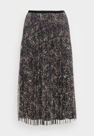 HANSIE MESH SKIRT - Veckad kjol - grey