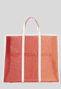 KARL LAGERFELD - Shopping bags - tangerine - 1
