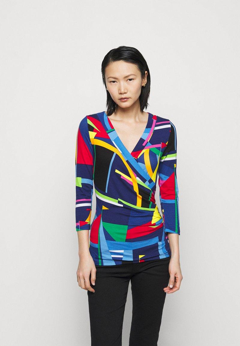 Lauren Ralph Lauren - Long sleeved top - blue/multi