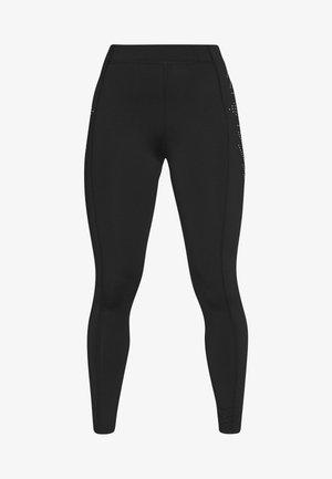ONPFIONA TRAINING TIGHTS PETITE - Leggings - black/white
