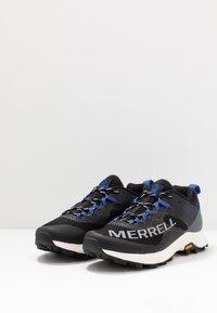 Merrell - MTL LONG SKY - Trail running shoes - black/dazzle - 2