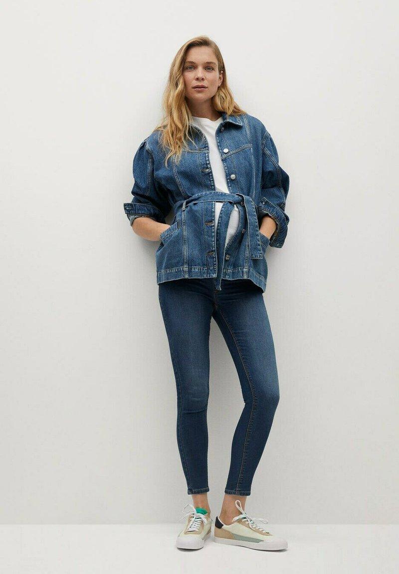 Mango - PITIMAT-I - Jeans Skinny Fit - mittelblau