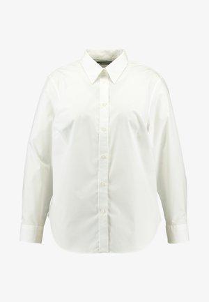 JAMELKO LONG SLEEVE SHIRT - Button-down blouse - white