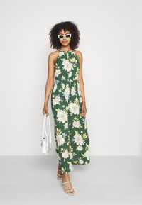 Vila - VIMESA BRAIDED DRESS - Maksimekko - garden topiary - 1
