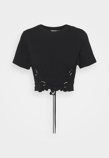 TRUE - T-shirts med print - black