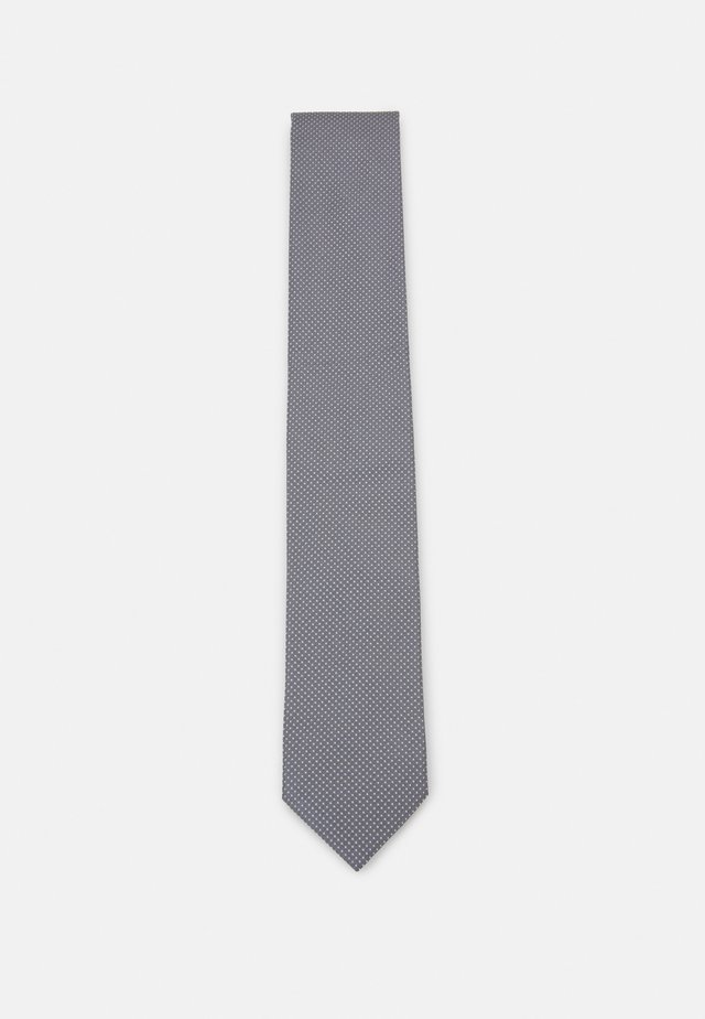 TIE - Cravatta - silver