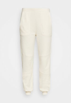 SPIN - Tracksuit bottoms - ivory
