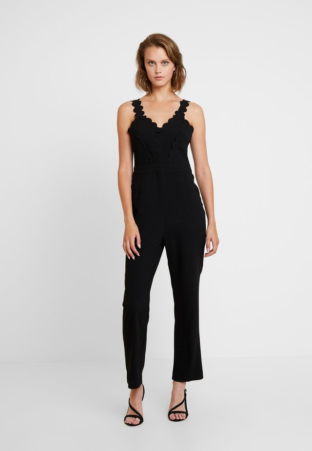 IDRIS - Tuta jumpsuit - black