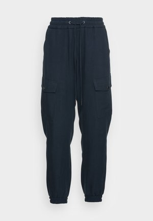 TROUSER - Cargo trousers - smoky blue