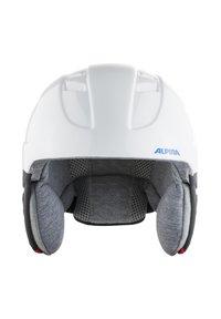 Alpina - Helmet - white-red-blue - 2