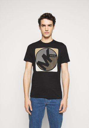 MINIDOT TEE - T-shirt print - black