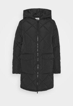 NMFALCON LONG JACKET - Winter coat - black