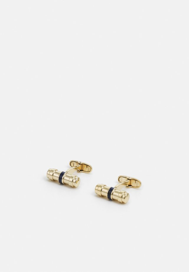 BARREL CUFFLINKS - Gemelli - gold-coloured