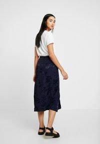 Leon & Harper - JAYGGER - A-line skirt - black iris - 2
