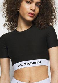 Paco Rabanne - Triko spotiskem - black - 4