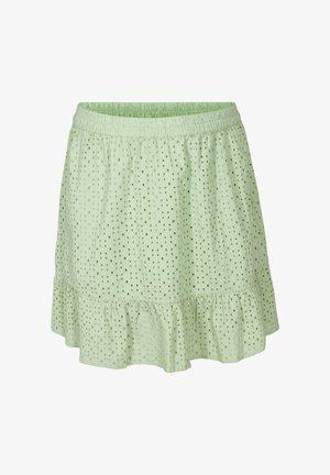 A-line skirt - silt green