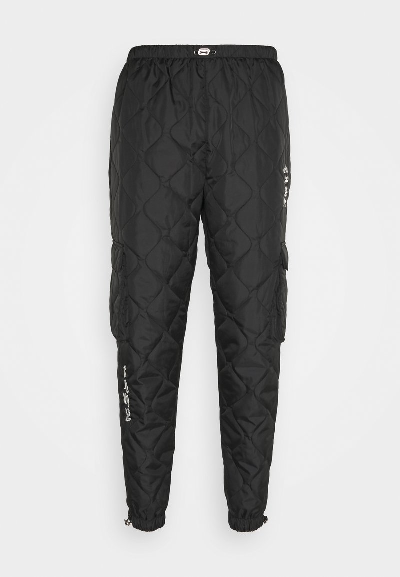 Grimey - FIRE PADDED PANTS - Trousers - black