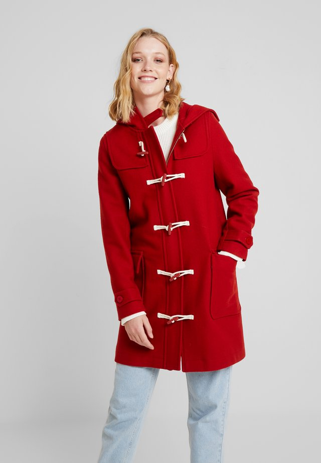 SCONES DUFFLE COAT - Abrigo - rust red